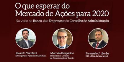 Evento: O que esperar do Mercado de Ações para 2020 | 05-03-2020 19h
